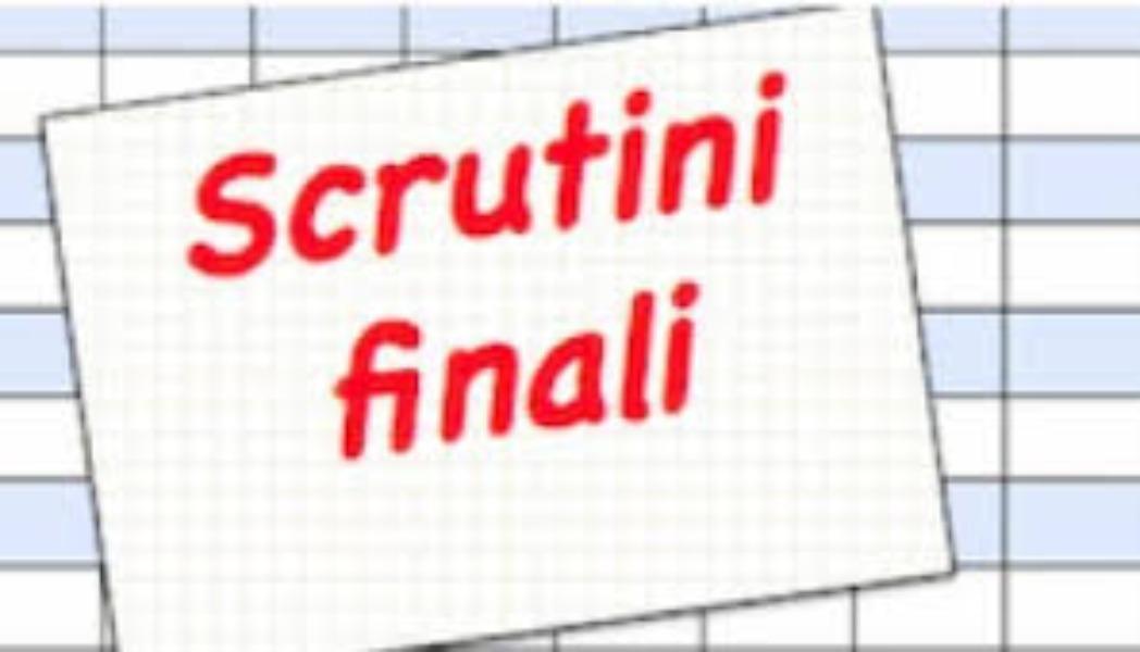 Pubblicazione  esiti scrutini finali e documento di valutazione alunni Scuola Primaria