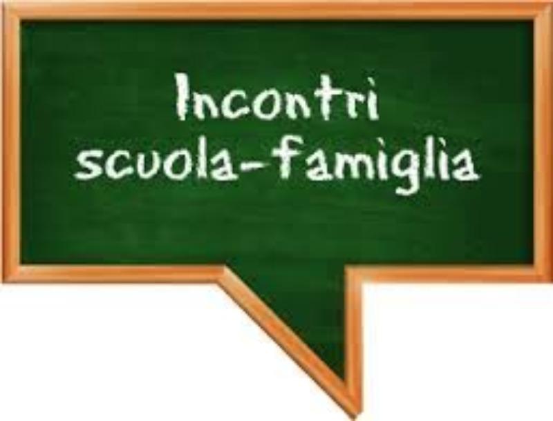 INCONTRO SCUOLA-FAMIGLIA 18/02/2021